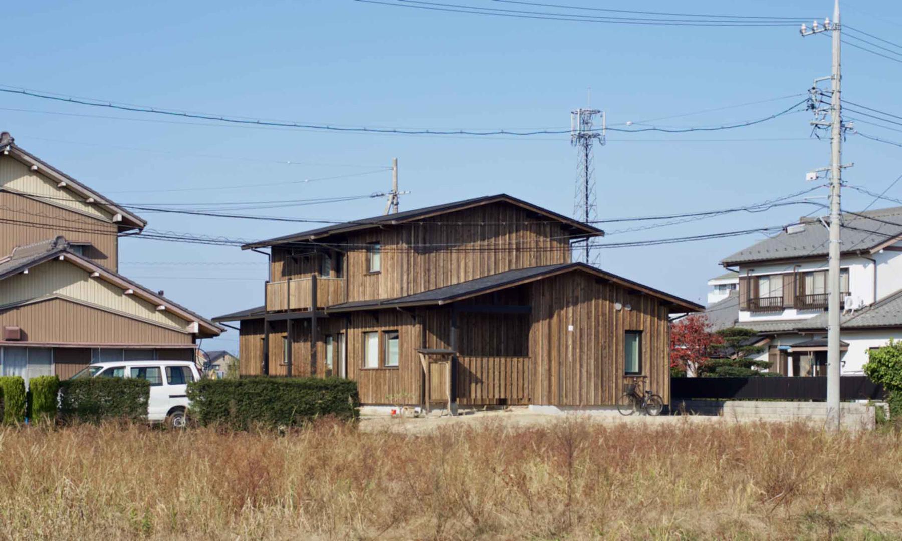 栃木 外観 北の住まい建築研究社 施行事例