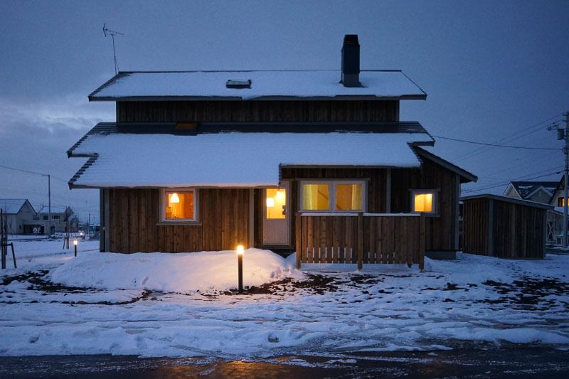 北海道の気候に耐えうる性能。