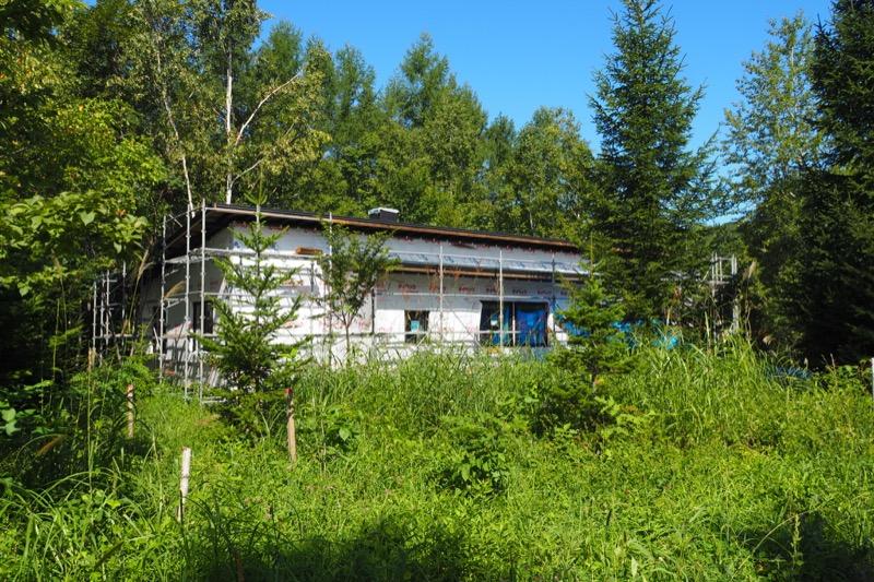 森の中の平屋、進行中 , 北の住まい建築研究社